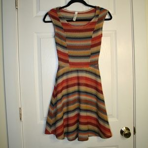 Lovely Day fit and flare Dress from Modcloth Small